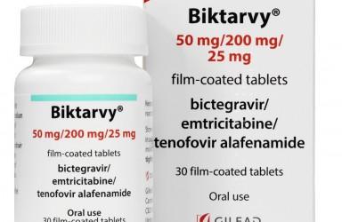 新药|治疗HIV-1的必妥维(比克恩丙诺)中国获批