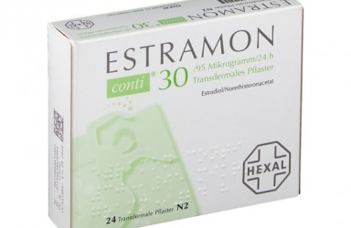 Estramon conti(雌二醇/炔诺酮)荷尔蒙透皮贴说明书