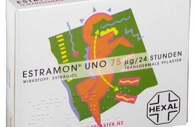 Estramon UNO(雌二醇)荷尔蒙透皮贴说明书