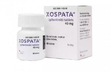 进展|Xospata(Gilteritinib)加拿大获批治疗FLT3突变复发/难治急性髓系白血病(AML)