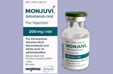 进展|Minjuvi(Tafasitamab)/来那度胺欧盟获批二线治疗复发难治性弥漫大B细胞淋巴瘤(DLBCL)