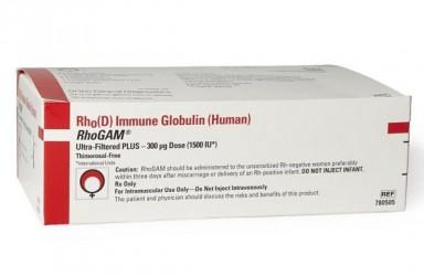 熊猫血RhoGAM免疫球蛋白说明书