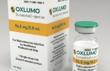 进展|Oxlumo(lumasiran)美国获批治疗原发性高草尿酸症1型(PH1)