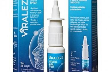 进展 VIRALEZE抗病毒喷鼻剂意大利上市